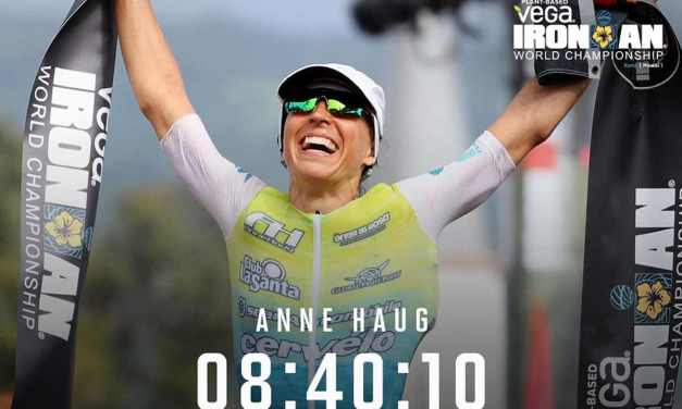 Anne Haug è la regina dell'Ironman Hawaii World Championship 2019