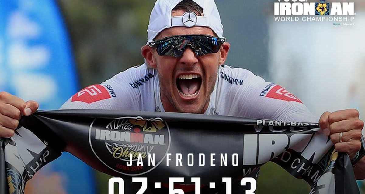 Jan Frodeno è da record! Vince l'Ironman Hawaii World Championship 2019 in 7:51:13!