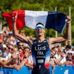 Il francese Vincent Luis è il nuovo campione del mondo ITU di triathlon. Vince il titolo 2019 a Losanna (Foto ©ITU Media).
