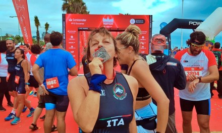 Al Barcelona Triathlon… Meravigliosa Gianna!