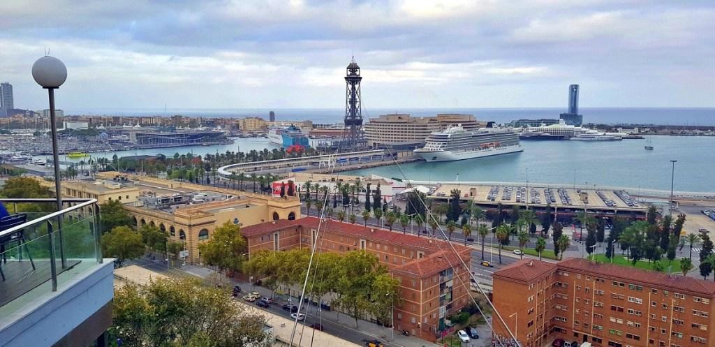 Una delle splendide viste di Barcellona