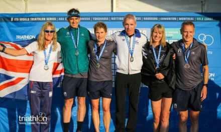 Danilo Palmucci: due volte oro ai Mondiali di triathlon a Gold Coast