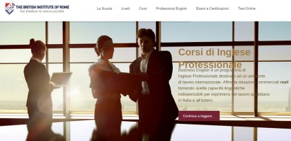 The British Institute of Rome Corsi di inglese Roma