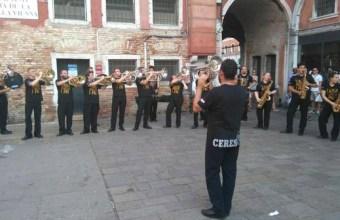 Ceres c'è, alla Festa del Redentore a Venezia