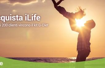iLife, assicurazione sulla vita regala Kit G-Diet