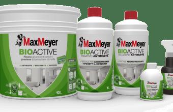 Ciclo Antimuffa BioActive:  MaxMeyer lancia ciclo completo per eliminare muffa da pareti di casa