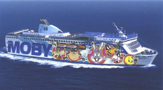 La nave della Moby