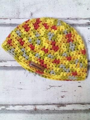 """Mütze """"Gelber Berg"""" von Mondspinne"""