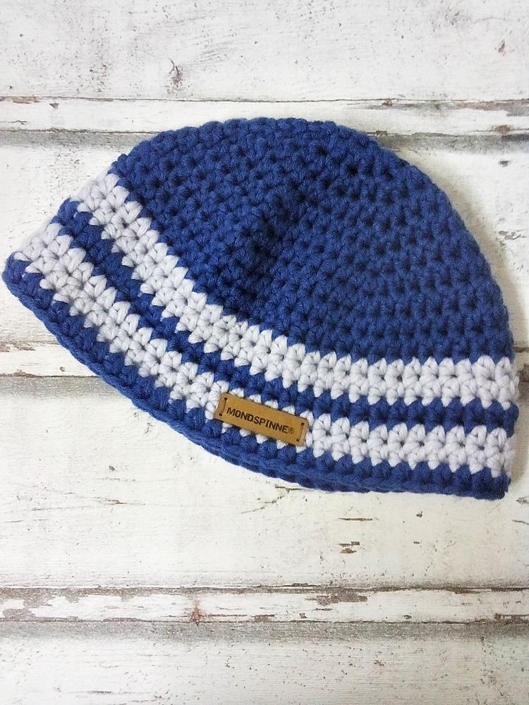 """Mütze """"Blauen"""" von Mondspinne"""