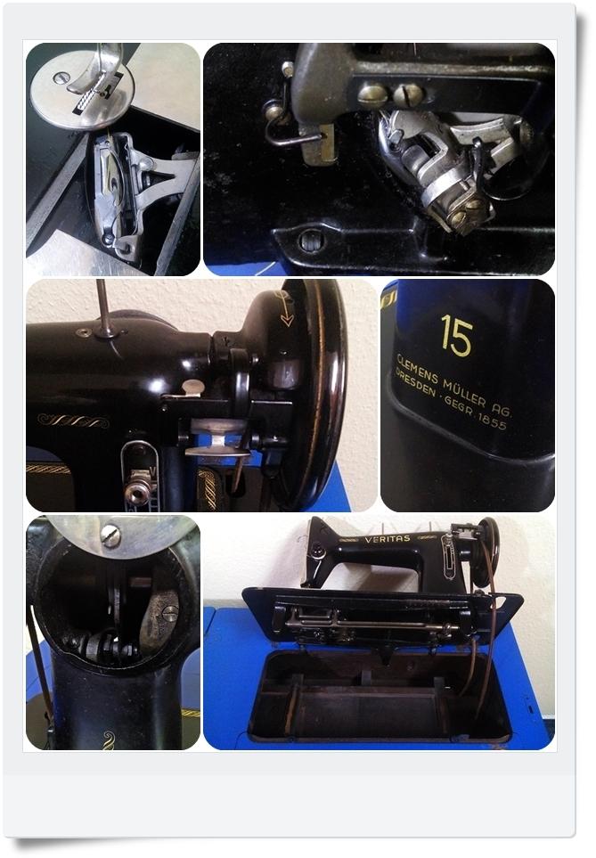 Nähmaschine Veritas 15 - Mondspinne