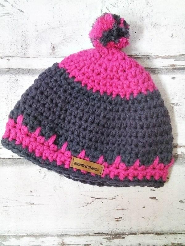 """Mütze """"Pink"""" von Mondspinne"""