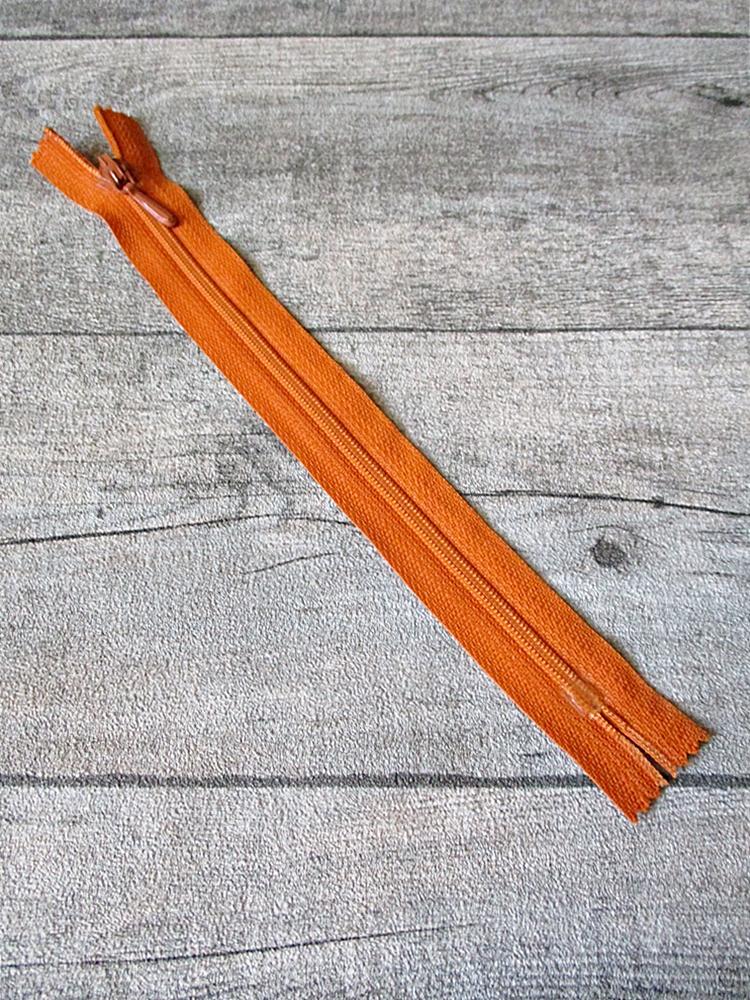 Reißverschluss orange 18 cm lang 22 mm breit YKK - MONDSPINNE
