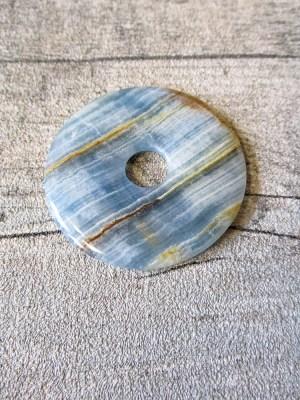 Aragonit blau gelb Donut Argentinien 50 mm - MONDSPINNE