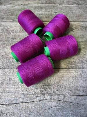 Garn Polyester purpur 0,1 mm 400 m - MONDSPINNE 24