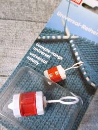 Reihenzähler Universalreihenzähler Prym rot-weiß Kunststoff - MONDSPINNE