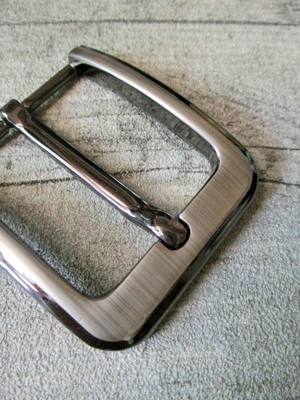 Gürtelschnalle Metallschließe altsilber Metall 40 mm - MONDSPINNE
