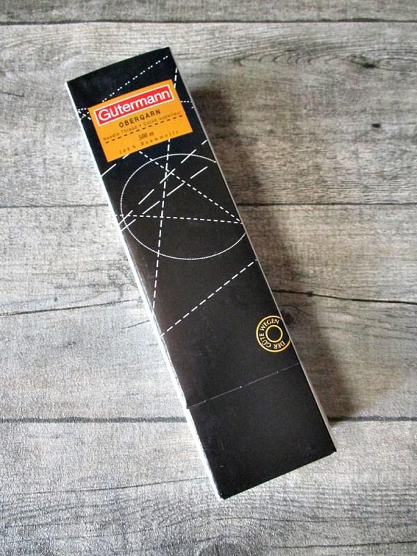 Garn Nähgarn fil à coudre Obergarn Gütermann weiß 500m Ne 50 Baumwolle sewing thread - MONDSPINNE