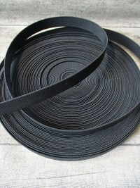 Gummiband schwarz 15 mm - MONDSPINNE