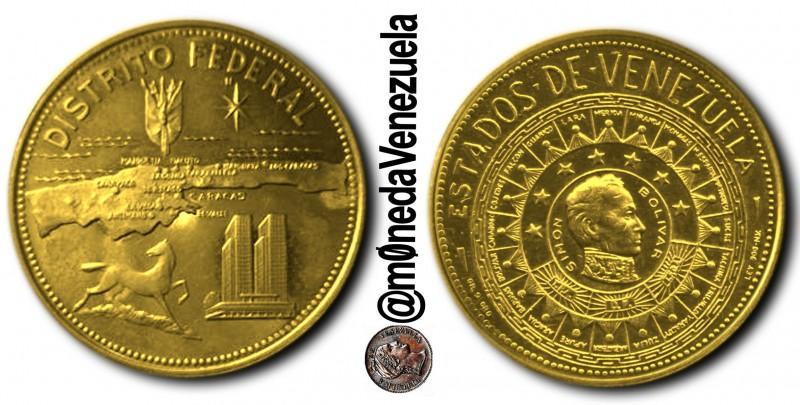 Medallas Conmemorativas de Oro, Serie 'Estados de Venezuela' (1968)