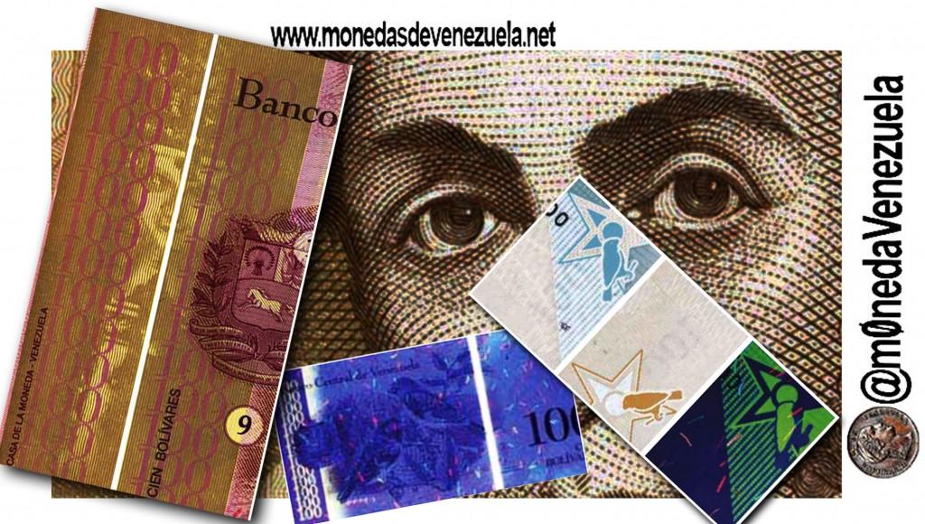Extraños simbolos en billetes