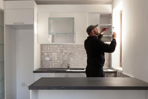 installation de meubles de cuisine