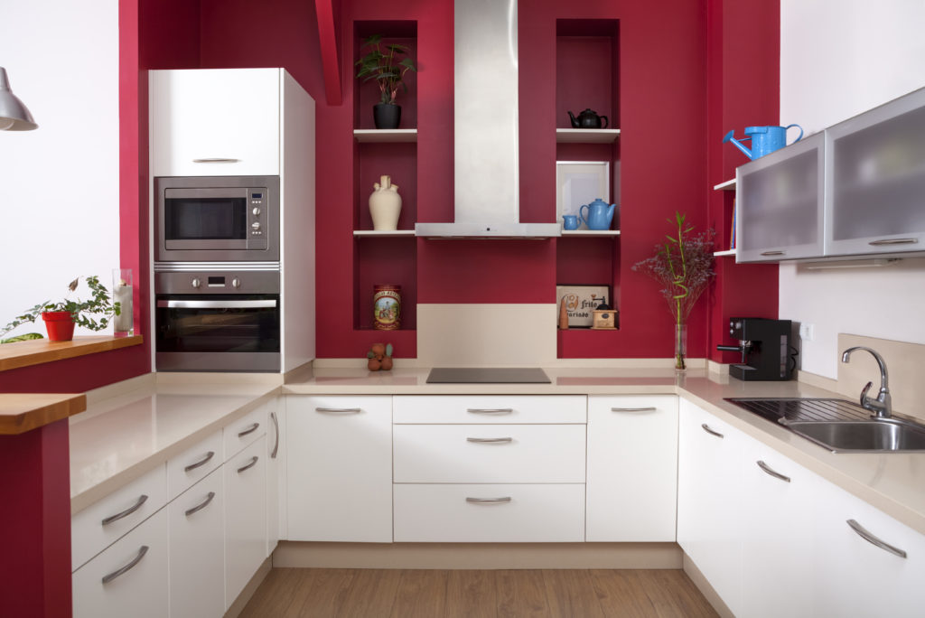 osez le rouge dans la cuisine photos