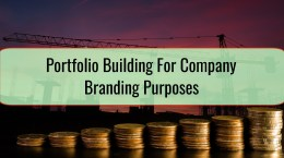 Portfolio Building For Company Branding Purposes