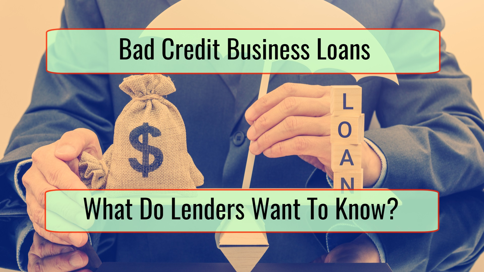 Lenders For Bad Credit >> What Do Lenders Analyze For A Bad Credit Business Loan Monetary