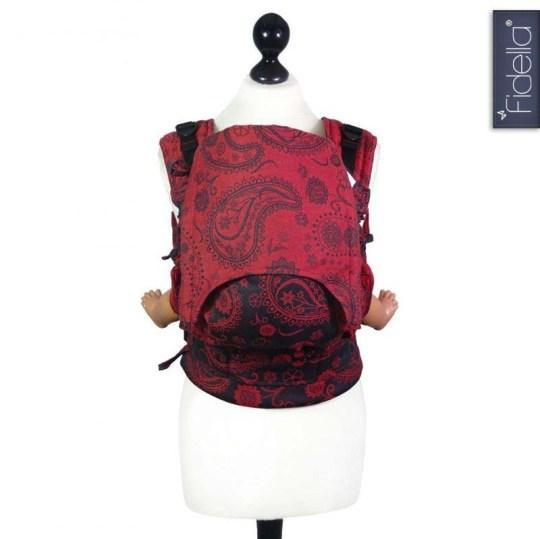 fidella-fusion-mochila-ergonomica-paisley-persico-roja-de-lava