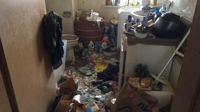 verhüllte Wohnung