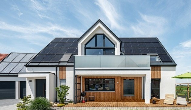 Energieautarkes Einfamilienhaus