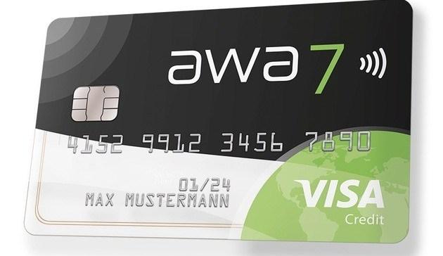 Visa Kreditkarte awa7