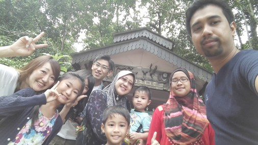 My family and Tao Sasaki's (PHP programmer from Japan) on a trip to the Elephant Sanctuary in Pahang, Malaysia.