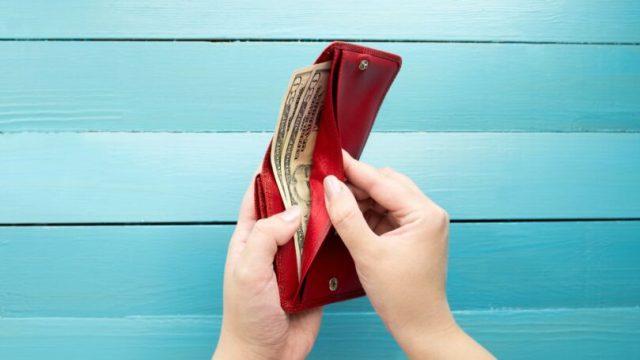 Spending Money Cash In Wallet