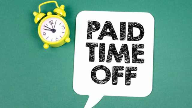 Paid Time Off Pto Clock