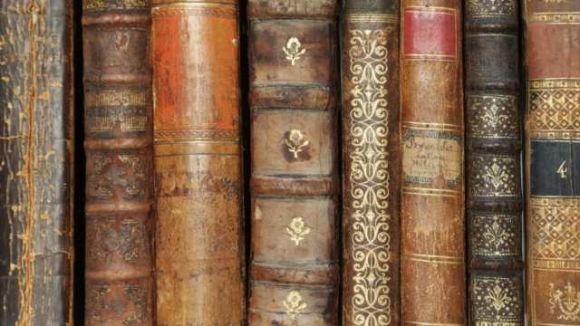 Used Bookstre Books Antique Leather Bound