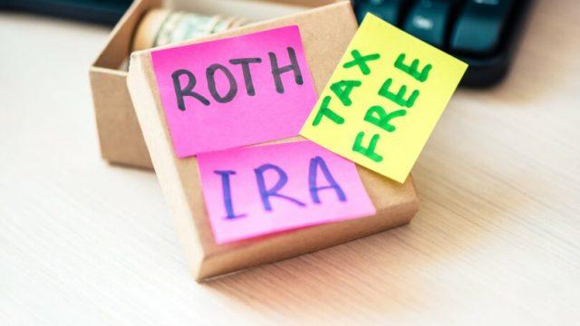 Lifelong Wealth Roth Ira Tax Free Post Its Paper Box Savings