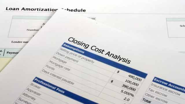 Closing Cost Analysis Break Down Of Fees