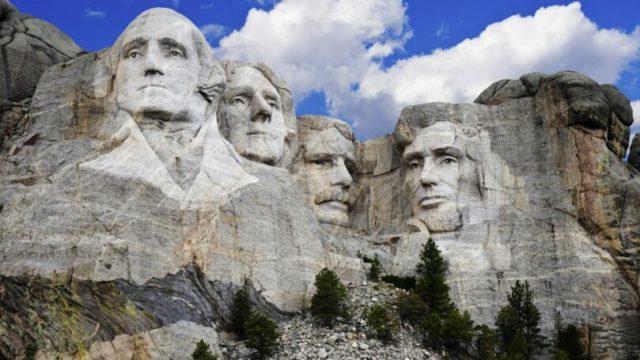 South Dakota Mount Rushmore National Memorial Park