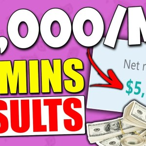 EASIEST Way To Earn $5,000/MO Using PRINT ON DEMAND And FREE TRAFFIC (Make Money Online)