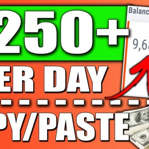 Earn $250 a Day With a POWERFUL Copy & Paste ClickBank For Beginners Tutorial (FREE)