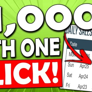 Get Paid Up To $1,000+ Per Day With Just ONE CLICK (Easy) Worldwide (Make Money Online)
