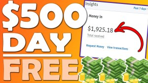 Easiest Way To Earn Money Online Without Investment and Make $100 - $500 Daily.