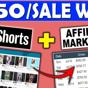Get Paid $750 a Sale With YouTube Shorts Affiliate Marketing (No Camera Needed)