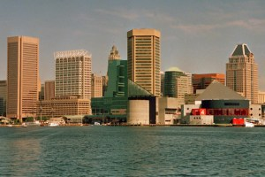 The beauty of Baltimore's Inner Harbor hides a persistent unemployment problem in Charm City.