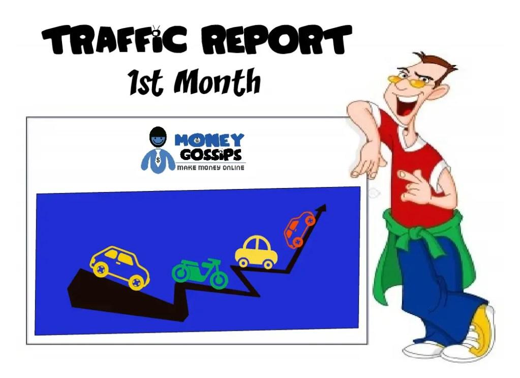 Traffic Report 1st month