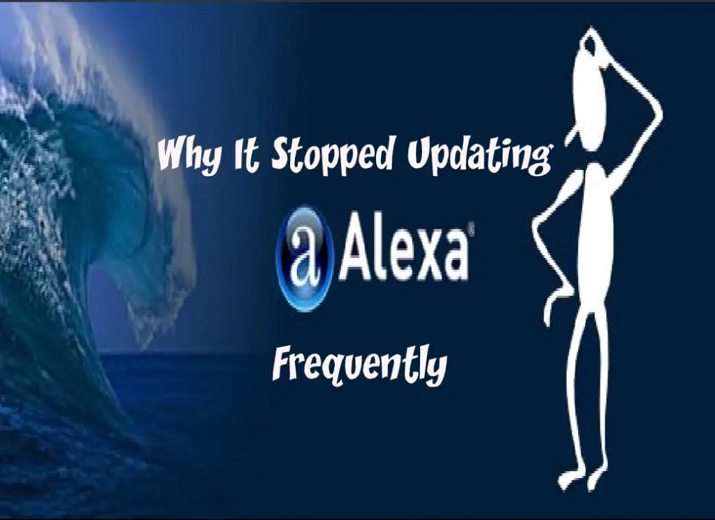 Why Alexa Stop Updating
