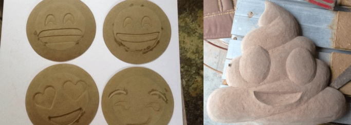 emoji face mask molds