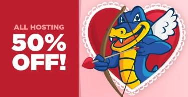 Hostgator Valentines Day Special 2015