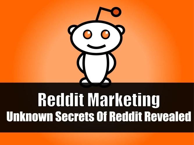 Reddit Marketing